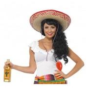Merkloos Mexicaanse verkleed accessoires dames - Verkleedpruiken