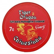 Gel para Massagem Tiger Dragon Chinesinha 7g Garji - ShopSensual