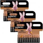 Duracell AAA Packung mit 36 Batterien (MN2400-X36)