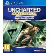 Uncharted: Drakes Fortune Remastered, за PS4