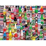 White Mountain Puzzles Soda Pop Jigsaw Puzzle (1000 Piece) By White Mountain Puzzles