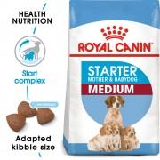 2 x 12 kg Royal Canin Medium Starter Mother & Babydog