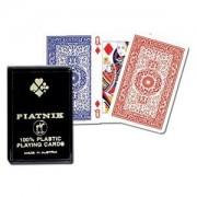 Karty Piatnik 100% plastic pojedyńcze 1364