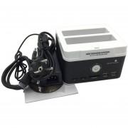 EW 2,5/3,5 pulgadas multifunción USB 3.0 IDE y SATA disco duro Lector de tarjeta base