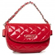 Чанта за кръст GUESS - Melise (TG) Mini HWTG76 67800 RED