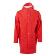 Rains Regenjassen Long Jacket Rood
