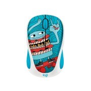 Logitech M238 Wireless Mouse Doodle Collection/Skateburger 910-005052