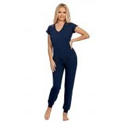 Pijama de lux Lena albastru închis XL