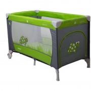 Patut pliabil Samba Gri Verde Coto Baby