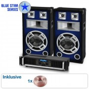 "Skytec ""Beatbass II"" Blue Star Series Conjunto de PA 1200 Watt"