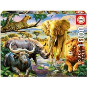Educa Children's 1000 The Big Five Puzzle (Piece)