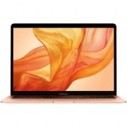 Laptop Apple MacBook Air 13 ecran Retina, procesor Intel® Core™ i5 1.6GHz, 8GB, 256GB SSD, Intel UHD Graphics 617, Gold, INT KB