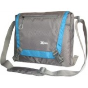 Xcel Men & Women Blue, Grey Messenger Bag