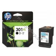 Касета HP 301XL, Black, p/n CH563EE - Оригинален HP консуматив - касета с глава и мастило