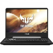 Laptop ASUS Gaming 15.6 TUF FX505GT-HN100, FHD 144Hz, Procesor Intel Core i7-9750H (12M Cache, up to 4.50 GHz), 8GB DDR4, 512GB SSD, GeForce GTX 1650 4GB, No OS, Black