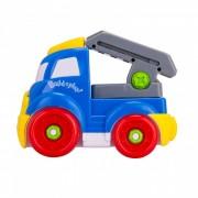 Mini Camion Escalera de Incendio portatil de juguete para ninos