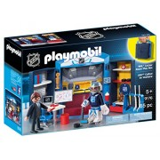 PLAYMOBIL NHL Locker Room Play Box
