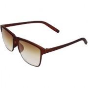Arzonai Besties Wayfarer Brown-Brown UV Protection Sunglasses |Frame For Men & Women [MA-318-S4 ]