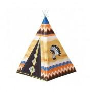 Merkloos Speelgoed indianen wigwam tipi tent 130 cm