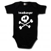 Body bebeluș Headbanger - Metal-Kids - 225-30-8-7