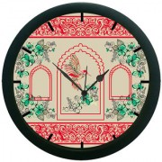 AE World Ethnic Pattern Wall Clock (With Glass)