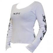 NPC WEAR Woman Ribbed Cotton Lycra Top - VitaminCenter