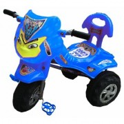 Oh Baby Baby Angry Bird Mask Blue Musical Tricycle For Your Kids SRF-CBH-SE-TC-05