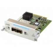 HP Convertidor de Red SFP+ 10GbE, 2 Puertos Fibra, para HP 2920