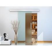 Porta de Correr traslúcido de Vidro Sem Obra - Vidro com 8 mm de Espessura - 205 x 77,5 cm