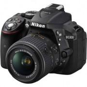 Refurbished-Good-Reflex Canon D5300 Black + Lens 18-55mm f/3.5-5.6G VR II