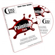 Painting (DVD and BLUE Back Gimmick) by Mickael Chatelain - DVD