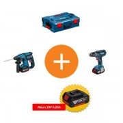 Set alata na promociji GBH 18V-EC + GSR 18-2-LI Plus u koferu Bosch