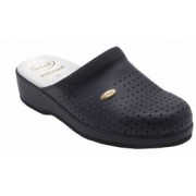 Scholl Clog Back Guard Bycast Navy 44