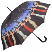 """Jack Vettriano """"Waltzer"""" Parasol długi ze skórzaną rączką"""
