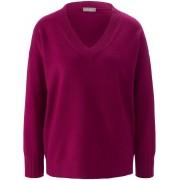 include V-Pullover include lila