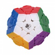 Dayan Megaminx Speed ??Cube Smooth Magic Cube Puzzles Toy Brain Teaser Educational Toy para Ninos Ninos-multicolor