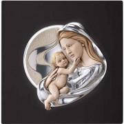 Strieborný obraz matky s dieťaťom V95.08125C