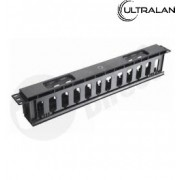 UltraLAN 1U Cabinet Cable Manager