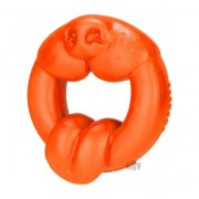 Oxballs Scrappy Puppy Silicone Cock Ring Orange EOXB-5379