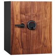 デジタルテンキー式 耐火・耐水デザイン金庫 25L クリスタルシリーズ ファイアセーフ 小・中型耐火金庫 オフィス収納 オフィス家具