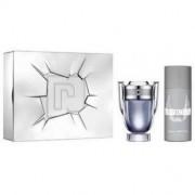 Paco Rabanne Invictus Cofanetto Regalo - eau de toilette 100 ml + deodorante spray 150 ml