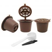 Återanvändbara Kaffekapslar 3 st till Nespresso Kaffemaskin