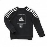 adidas Sweat noir bandes blanches Junior adidas - 13-14A OL - Foot Lyon