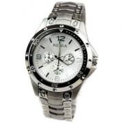 Prushti Fashion Brand Men Full Stainless Steel Watch Rosra