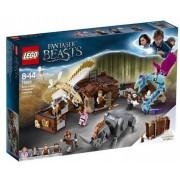 Lego Klocki konstrukcyjne LEGO Harry Potter Walizka Newta z magicznymi stworzeniami 75952