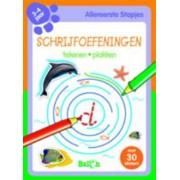 Schrijfoefeningen (3-4 jaar) dolfijn