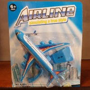 Juguete Avion Airline En Blister 16cm
