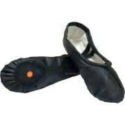 Танцови обувки (туфли кожени) 29-42 черни