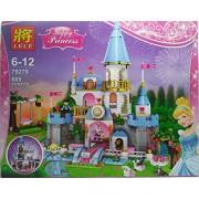 Big Size Happy Princess Romantic Castle Multi Color Building Blocks(HCCD ENTERPRISE)