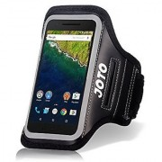 Nexus 6P Armband JOTO Sport Armband Case for Huawei Nexus 6P 5.7 (2015) best for Gym Sports Fitness Running Exerc
